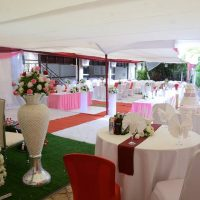 Wedding garden in Kigali photo